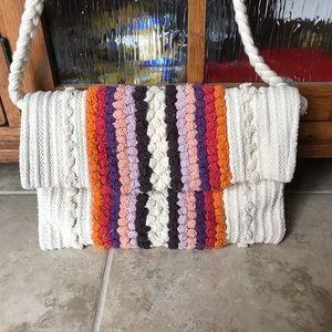 Love stitch purse
